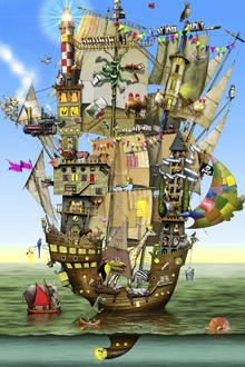 Wall mural - Noahs Ark