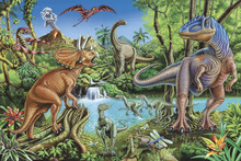 Wall Mural - Dinosaur Waterfall