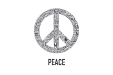 Wall mural - The Peace