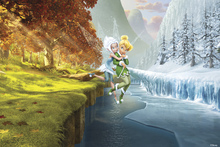 Wall mural - Fairies - Summer Winter