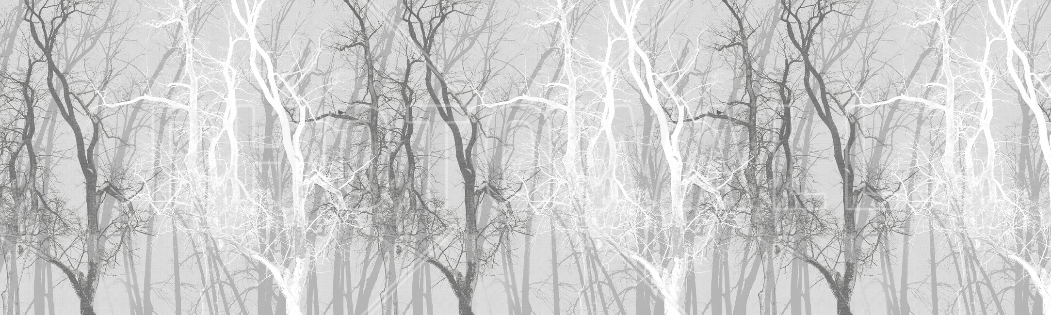 Patterns, fonds, des trucs jolis quoi Wander-trees-charcoal-1