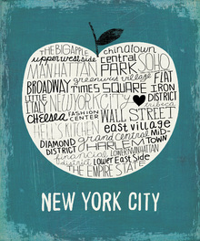 Canvas print - Mullan - Big Apple