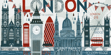 Canvas print - Hello London