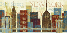 Canvas-taulu - Hey New York