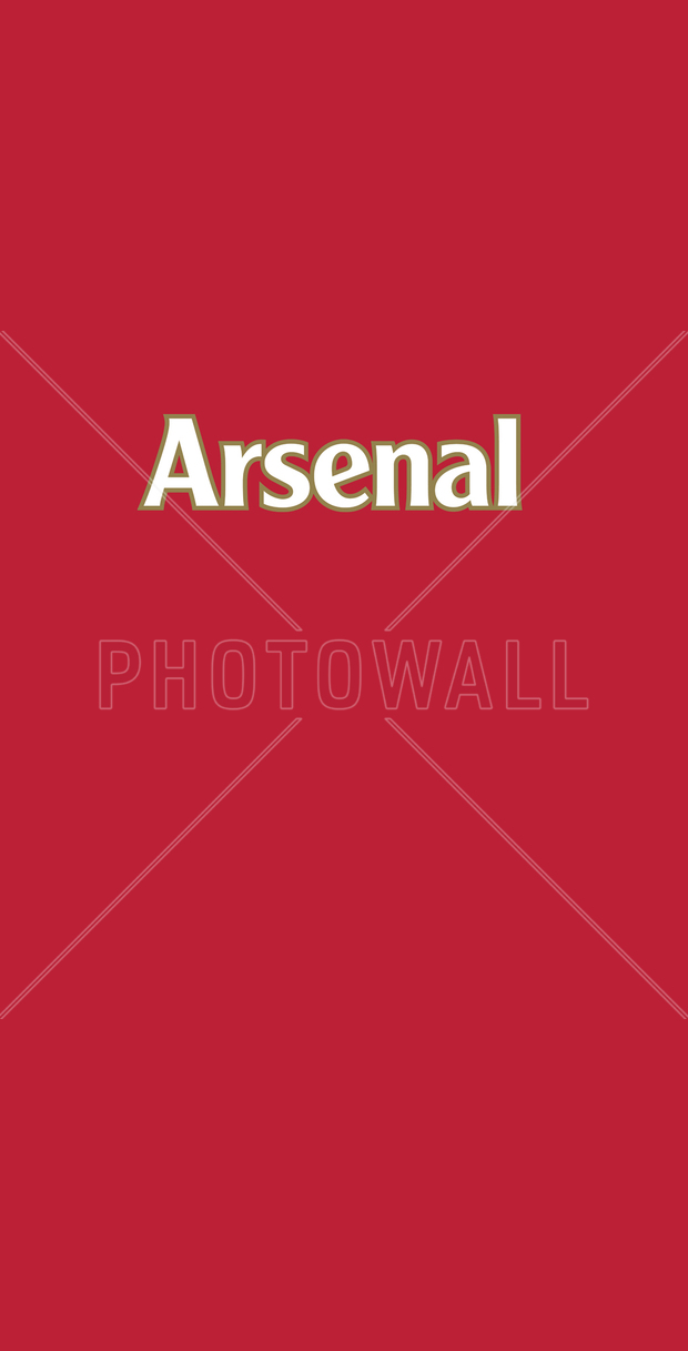 Arsenal red background wall mural photo wallpaper for Arsenal mural wallpaper