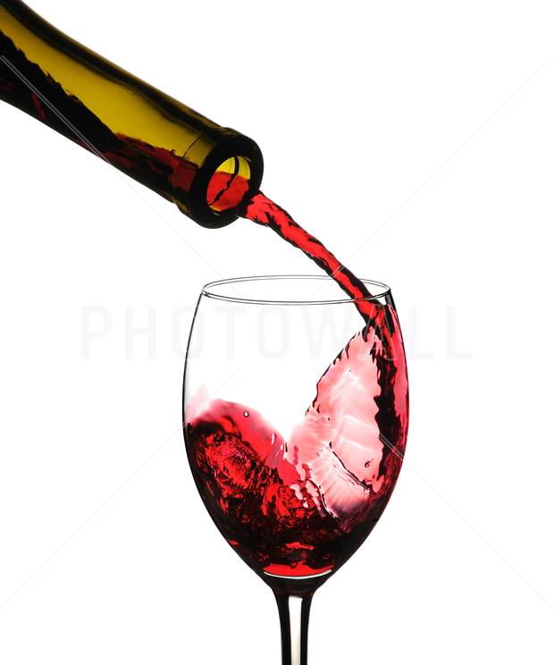Red wine pour decoration murale papier peint photo for Chambre red wine