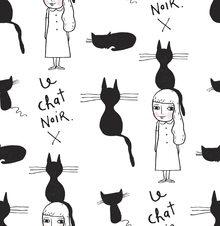Tapet - Le Chat Noir X