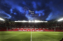 Wall mural - Manchester United FC - Old Trafford - Take me Home