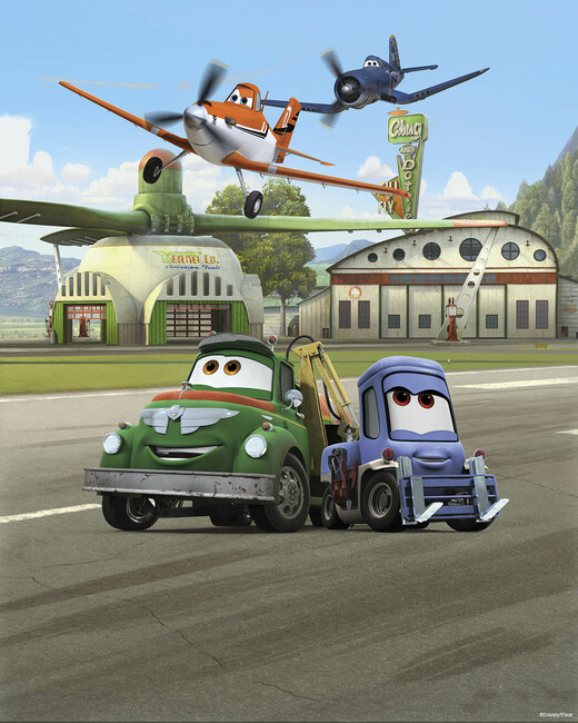 Planes - Dusty, Skipper, Hug and Dottie