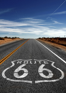 Fototapet - Route 66 On the Road Again