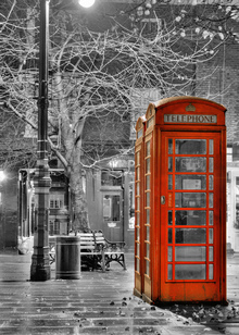 Lerretsbilde - London Phone