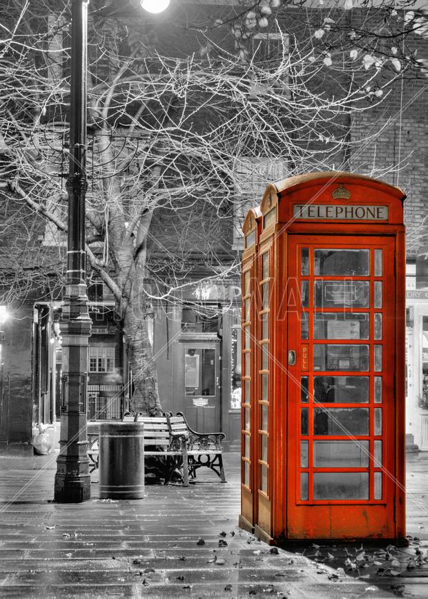 London Phone Wall Mural Amp Photo Wallpaper Photowall