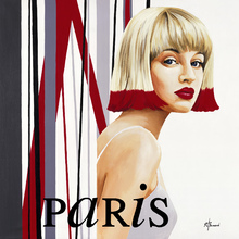 Wall mural - Femme Cheveux Rouges