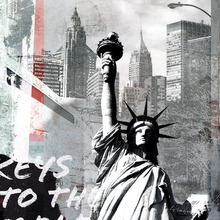 Lerretsbilde - Statue of Liberty