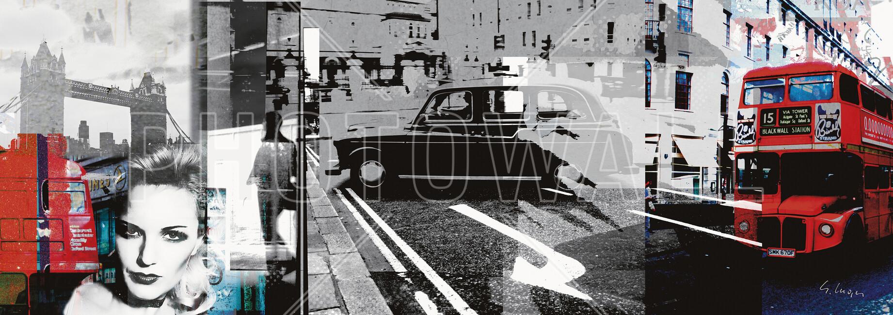 London fotobehang behang photowall - Behang london ...