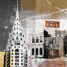 Canvas print - Fanelli Cafe