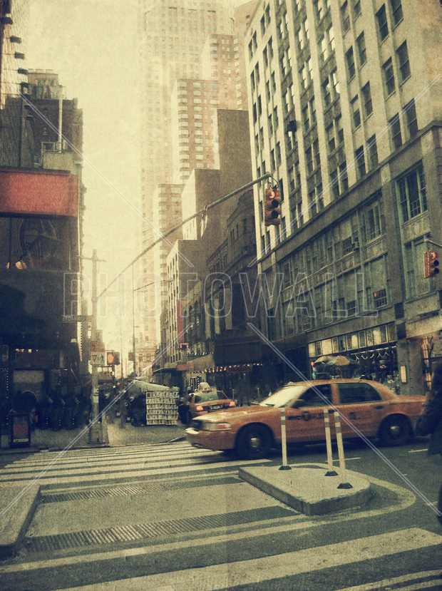 new york city broadway fototapeten tapeten photowall. Black Bedroom Furniture Sets. Home Design Ideas