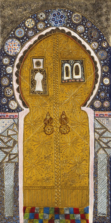 Porte Orientale Ii Decoration Murale Papier Peint