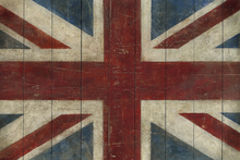 Fototapete - Avery Tillmon - Union Jack