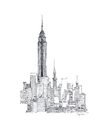 Wall mural - Avery Tillmon - Empire State