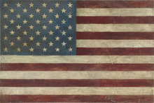 Canvas print - Avery Tillmon - American Flag