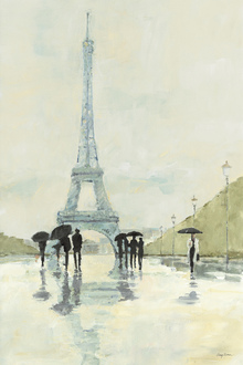 Canvas print - Avery Tillmon - April in Paris