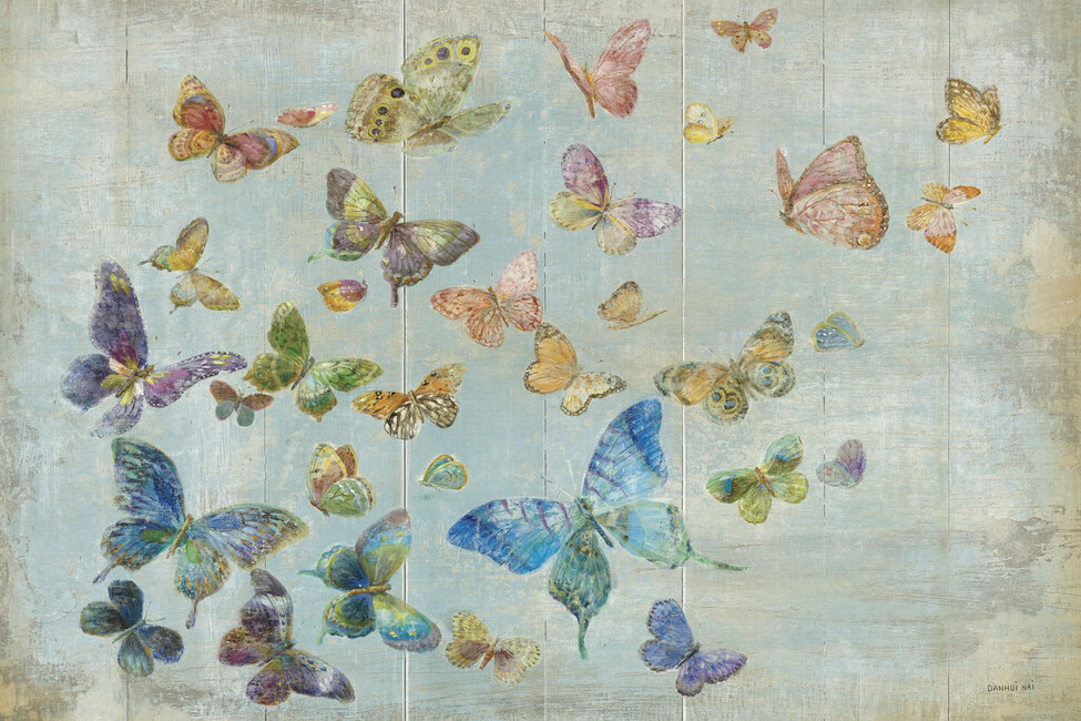 Butterflies wall mural photo wallpaper photowall for Butterfly mural wallpaper