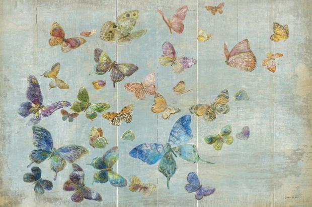 Butterflies wall mural photo wallpaper photowall for Butterfly mural wallpaper