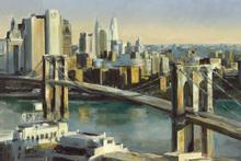 Canvas-taulu - Into Manhattan