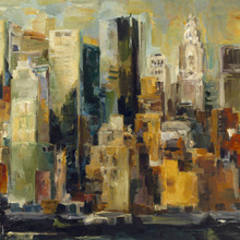 Canvas-taulu - New York New York