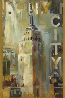Canvas-taulu - The Empire State Building