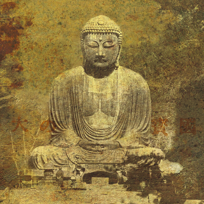 Asian buddha wall mural photo wallpaper photowall for Asian wallpaper mural