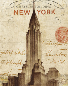 Canvas-taulu - Letter from New York
