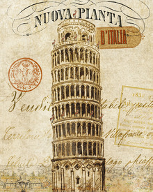 Canvas-taulu - Letter from Italy