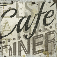 Canvas-taulu - Michael Mullan - Restaurant Sign ll