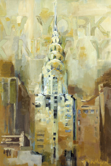 Canvas-taulu - The Chrysler Building
