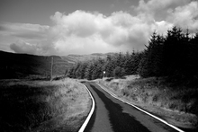 Wall mural - Paved Road by Firs
