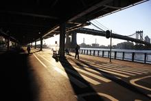 Wall mural - Manhattan Bridge