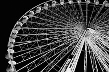 Wall mural - Ferris Wheel by Night
