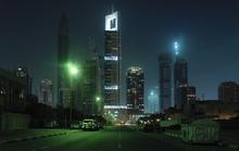Wall mural - Dubai by Night