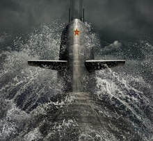 Wall mural - Submarine