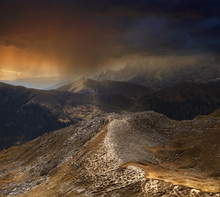Fototapet - Mystic Mountains