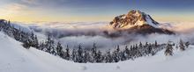 Fototapet - Snowy Mountain