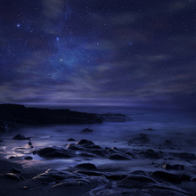 Fototapet - Purple Sky