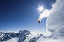Canvas print - Extreme Skiing
