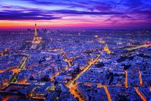 Valokuvatapetti - Paris By Night
