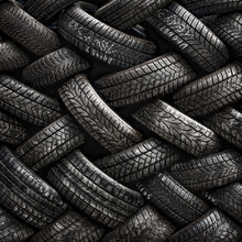 Fototapet - Tire Tread