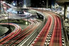 Fototapet - Chaotic traffic