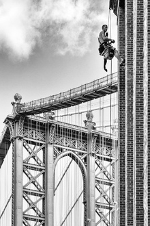 Canvas print - Brooklyn Bridge Maintenance