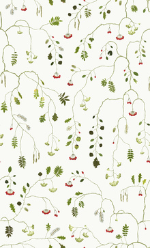 Wallpaper - Mountain Pine - Off White